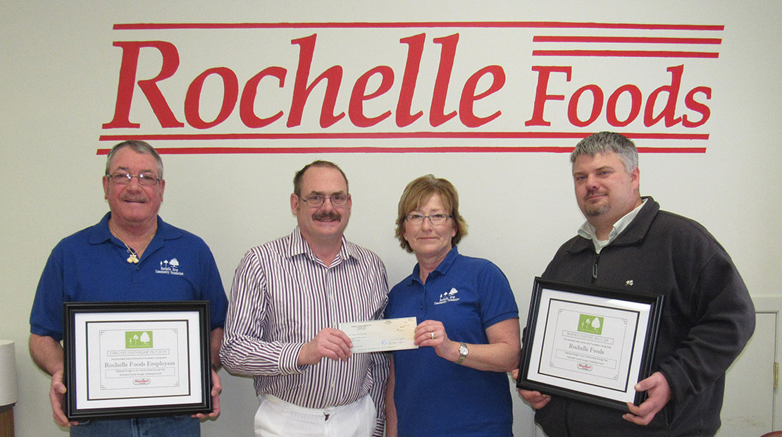 2015 Rochelle Foods Donation