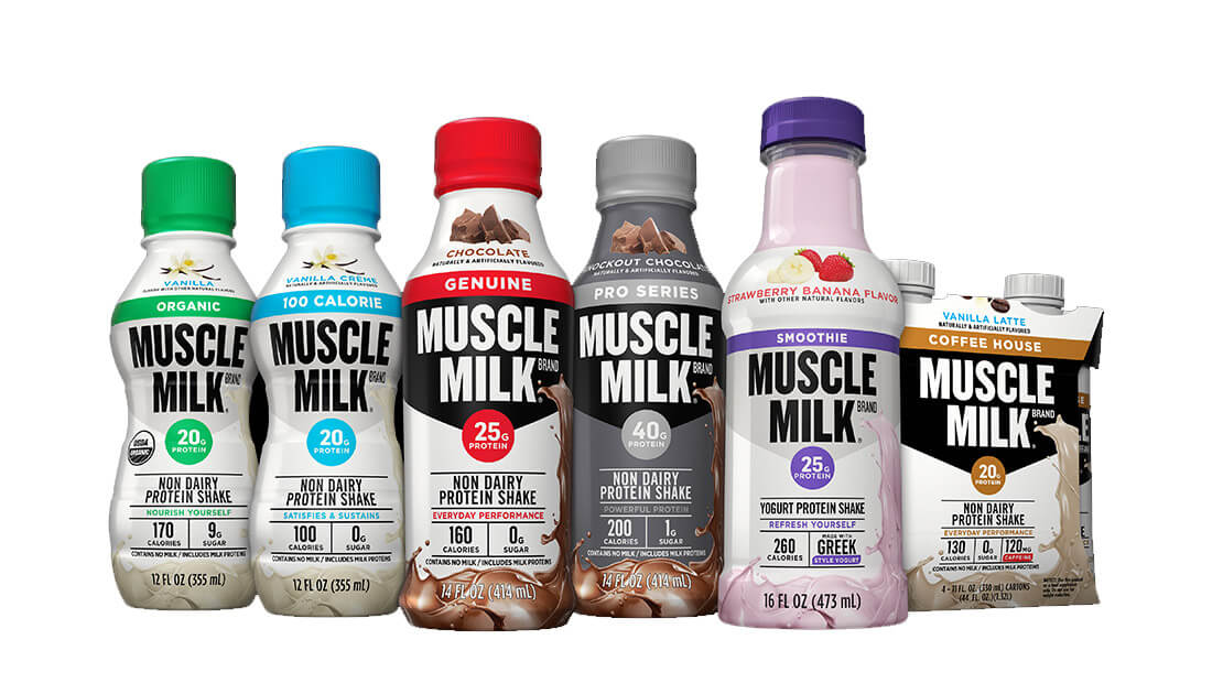 2016 Muscle Milk Packaging