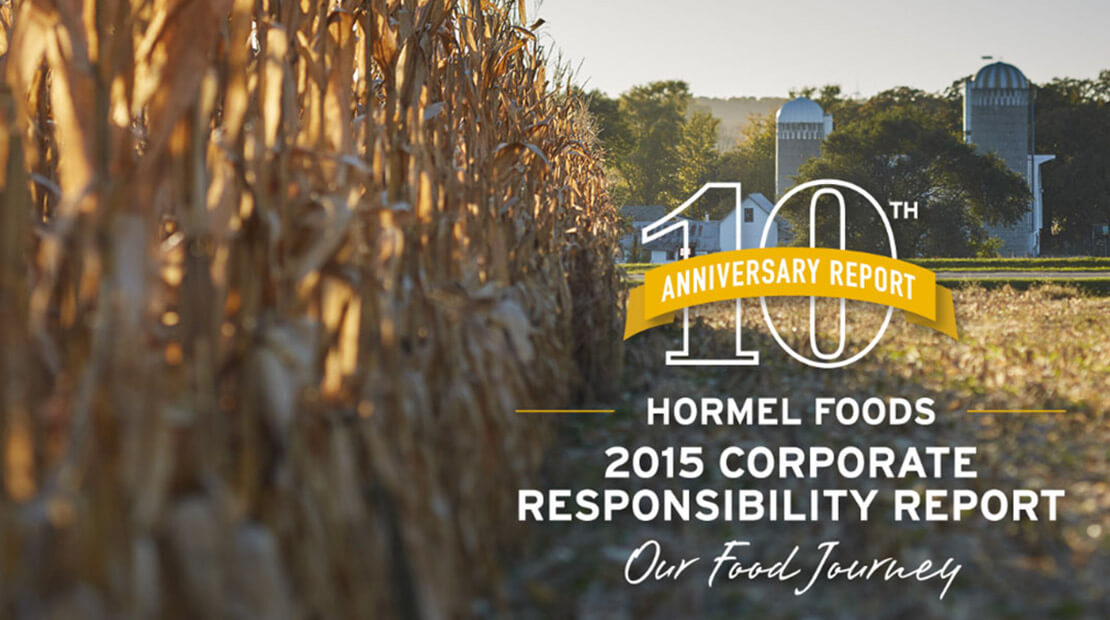 2016 Hormel Foods Corporate Responsibility Report