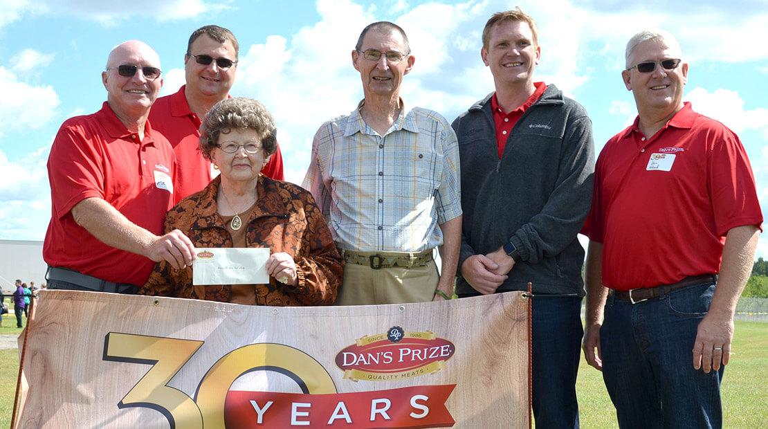 2016 Dan's Prize Donation
