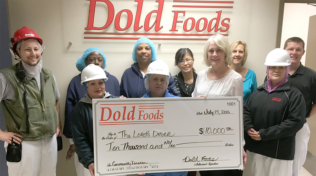 2016 Dold Foods Donation