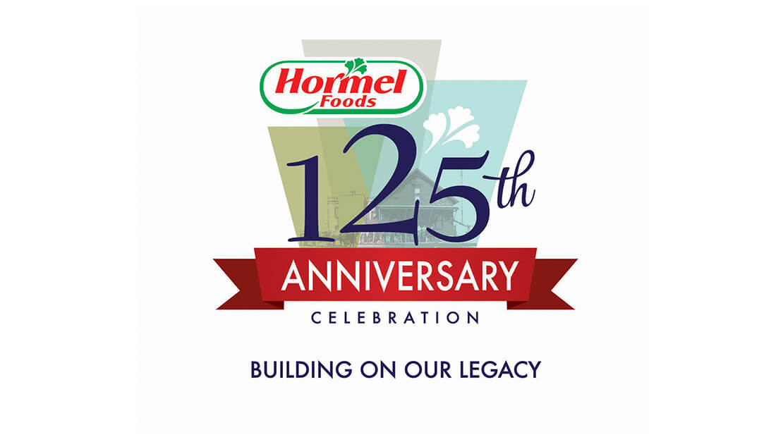 Hormel Foods 125th Anniversary Logo