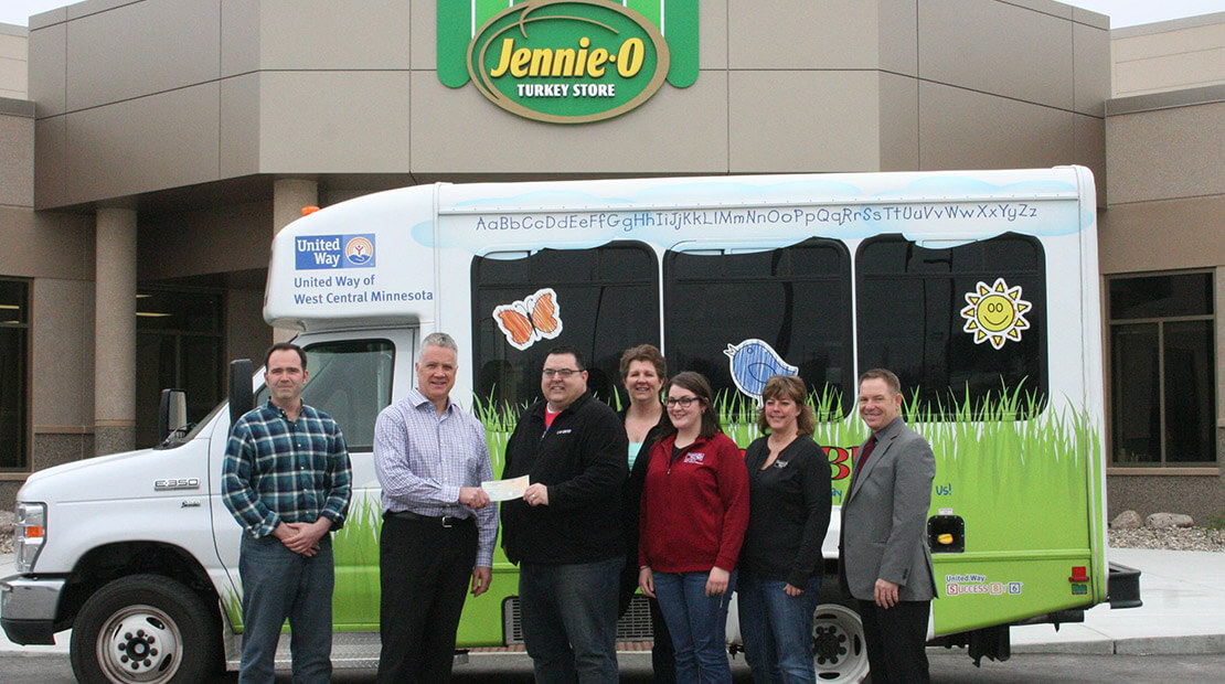 2016 Jennie-O Turkey Store Willmar Donation