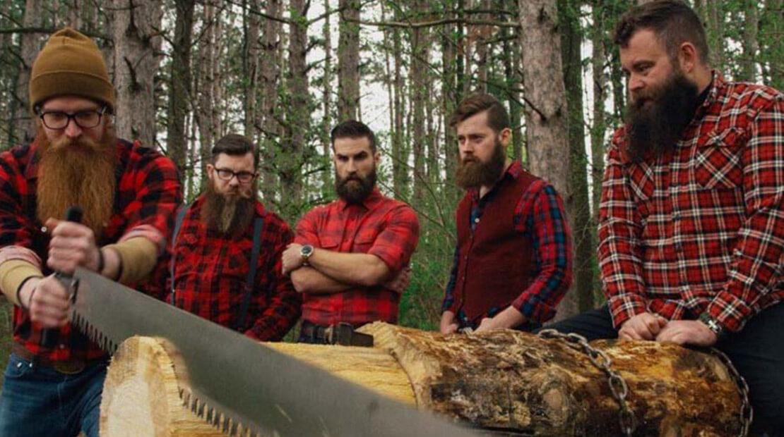 Dinty Moore Lumbersexuals