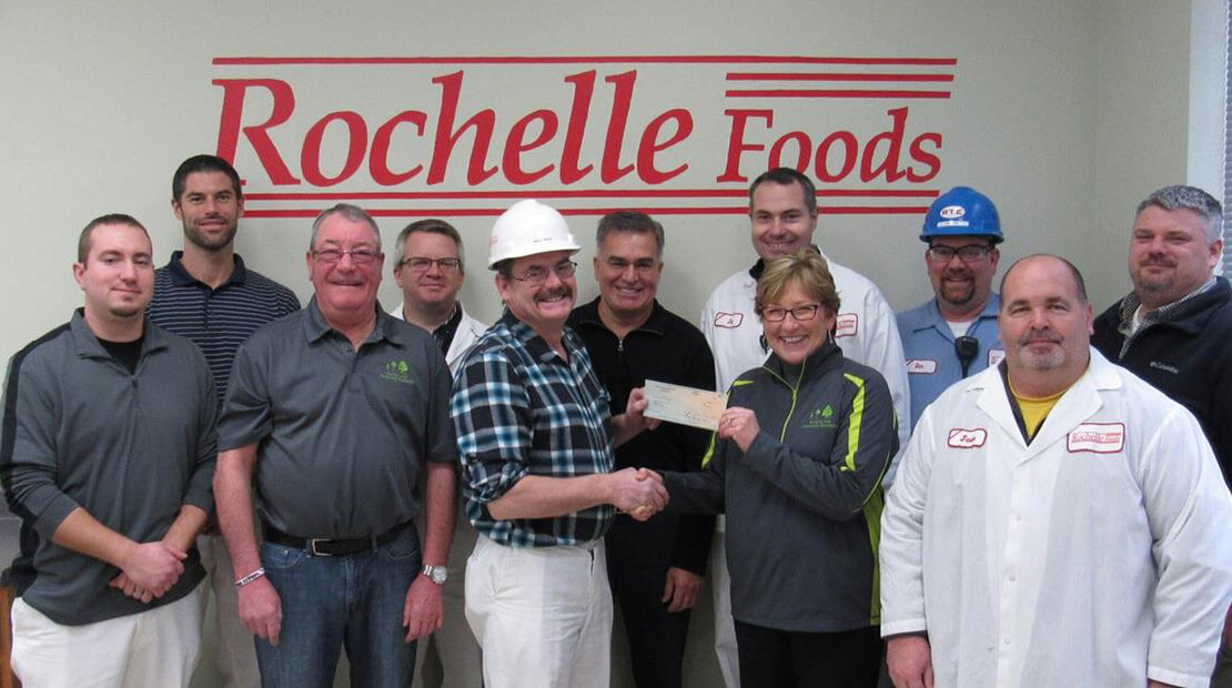 2016 Rochelle Foods Donation