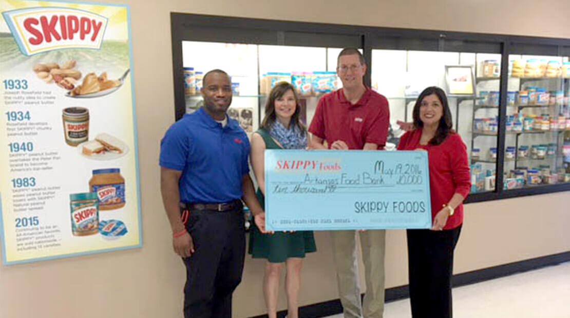 2016 SKIPPY Foods donation
