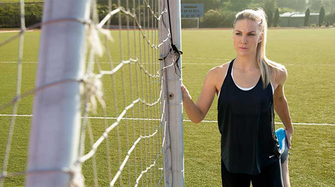 Julie Johnston Muscle Milk