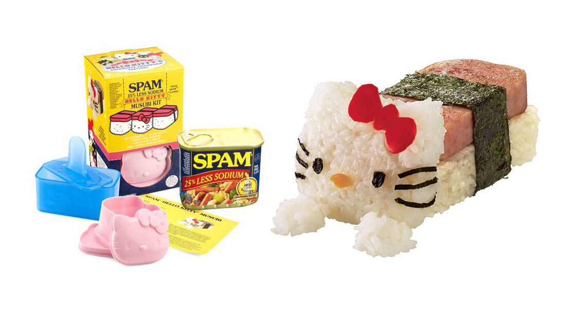 SPAM Musubi Hello Kitty