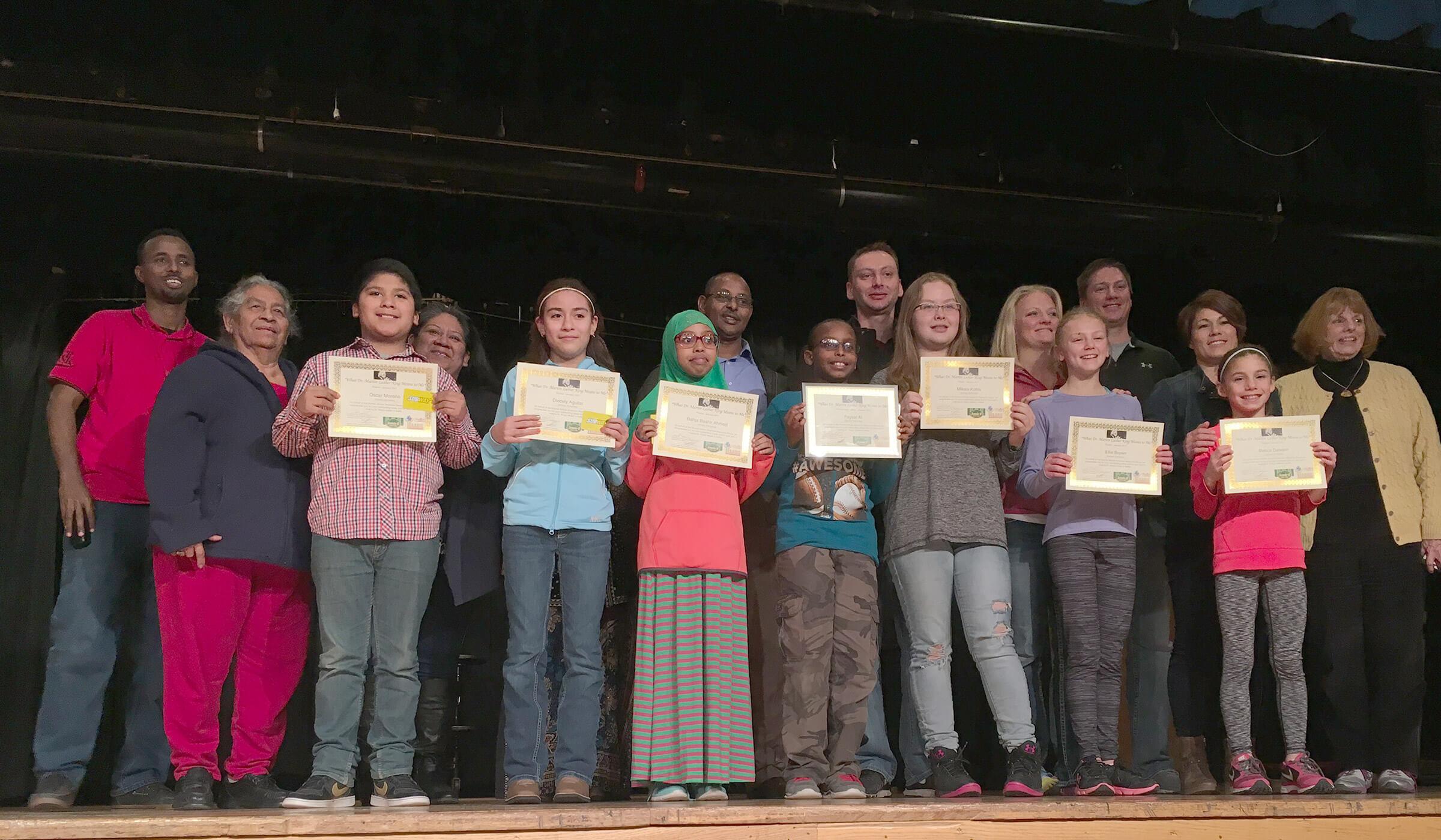 2017 MLK Essay Winners