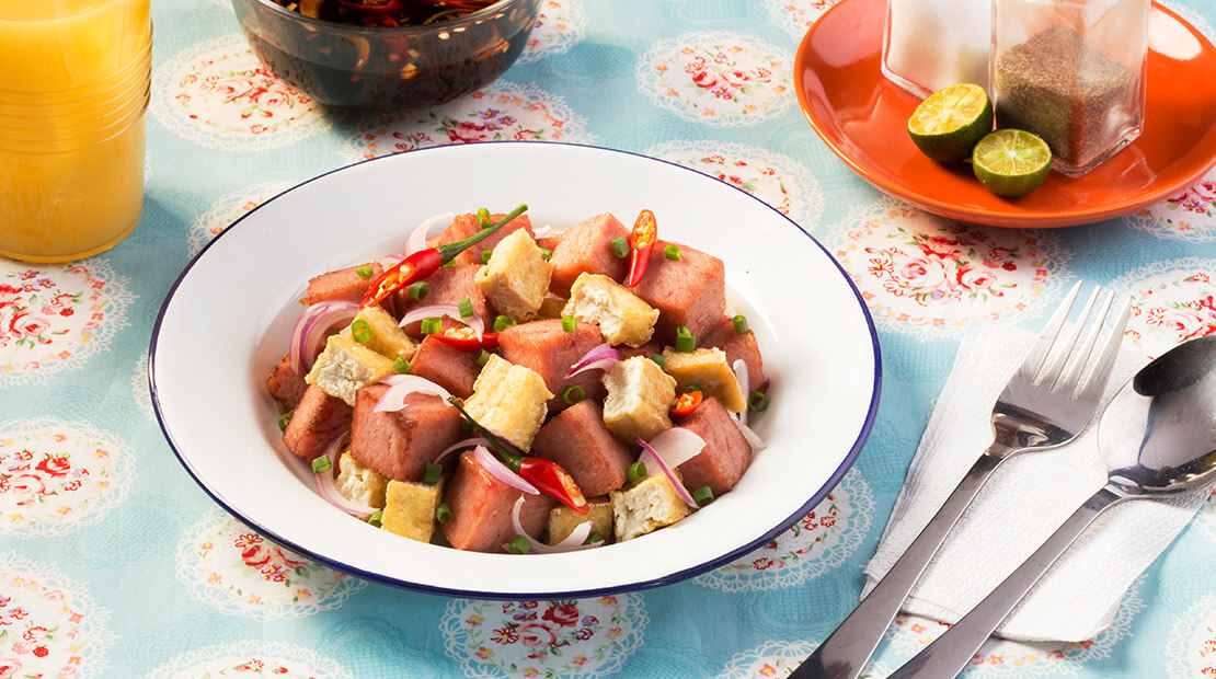 Tokwa't SPAM® Recipe