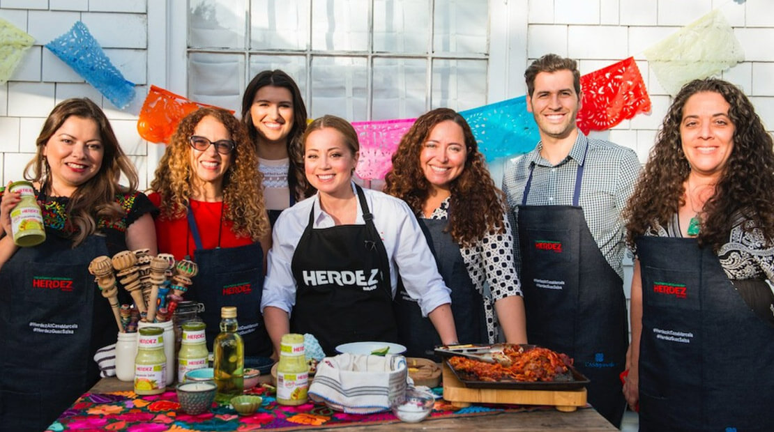 Herdez event Chef Marcela