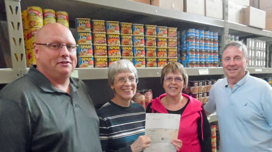 Jennie-O Faribault Donation