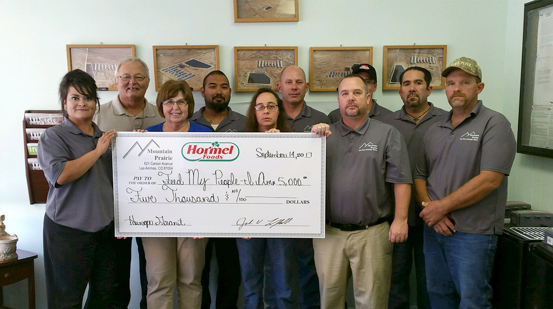 Mountain Prairie Donation