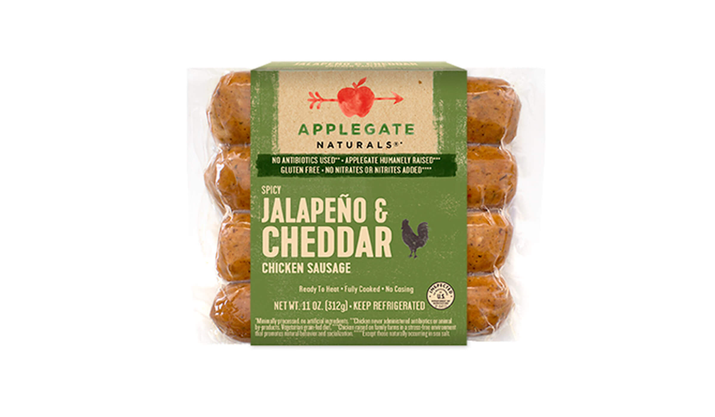 Applegate Naturals® jalapeno and cheddar sausage