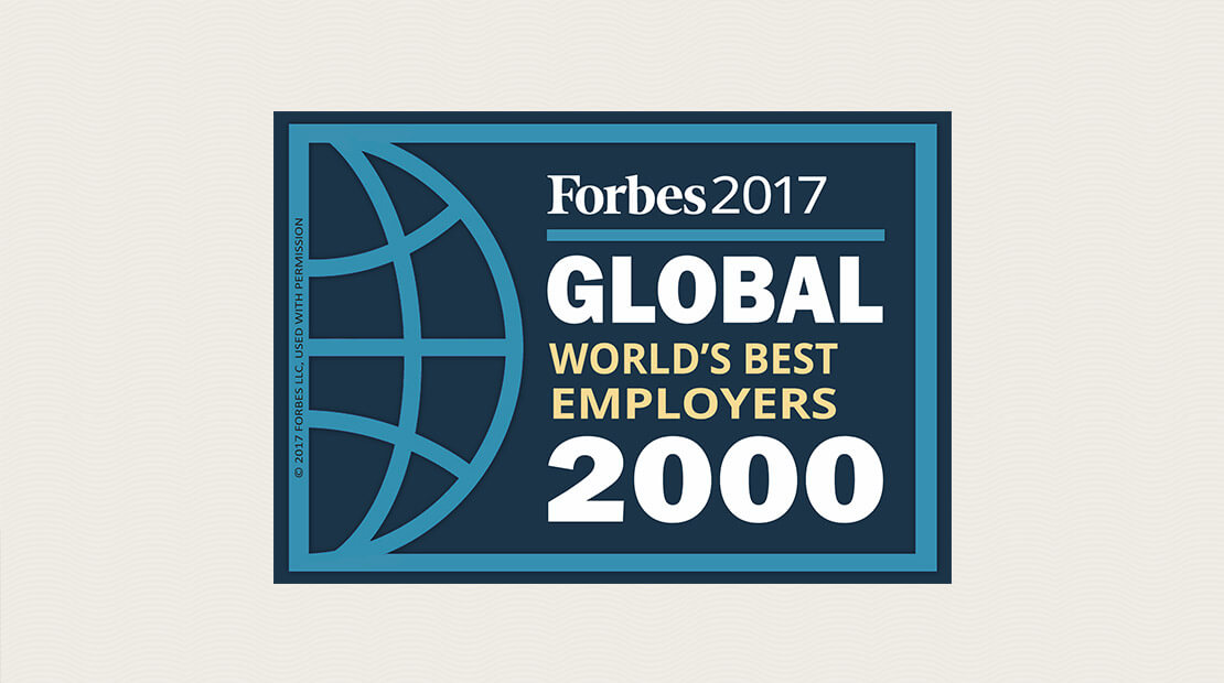 Forbes World's Best Employers List