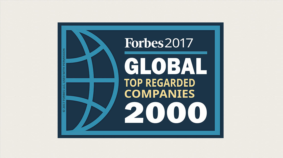Forbes Top Regarded