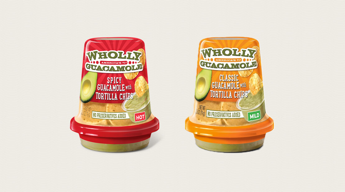 Wholly Guacamole Snacks