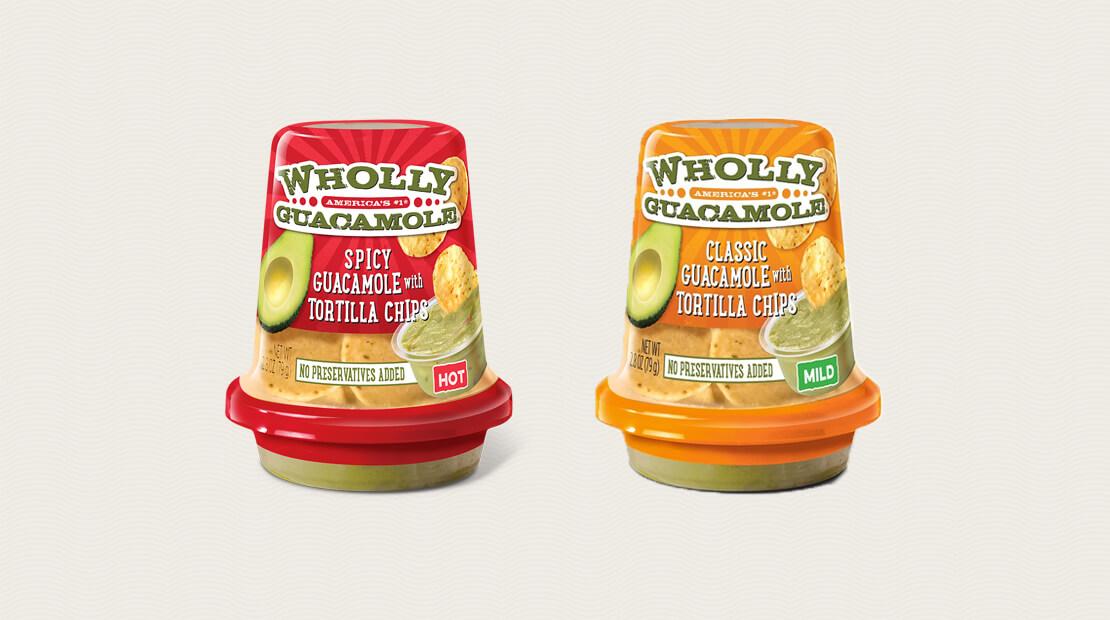 Wholly Guacamole Snacks