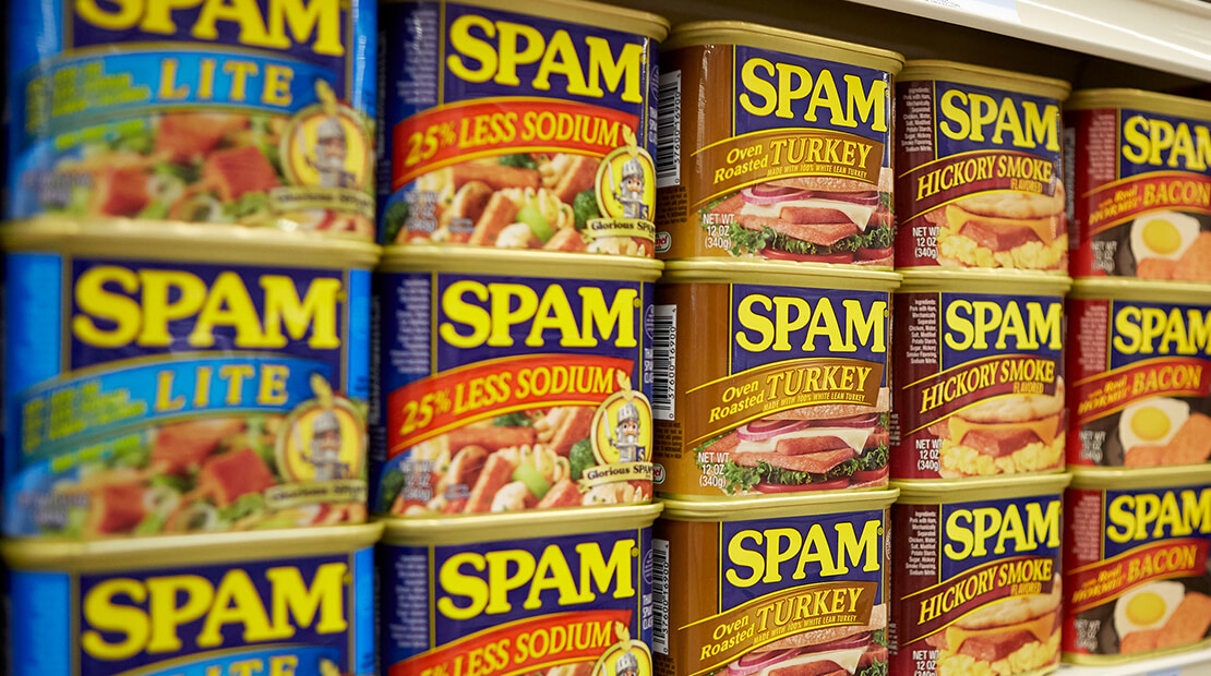 Hormel Foods SPAM® cans