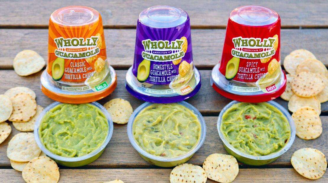 Wholly Guacamole Snack cups