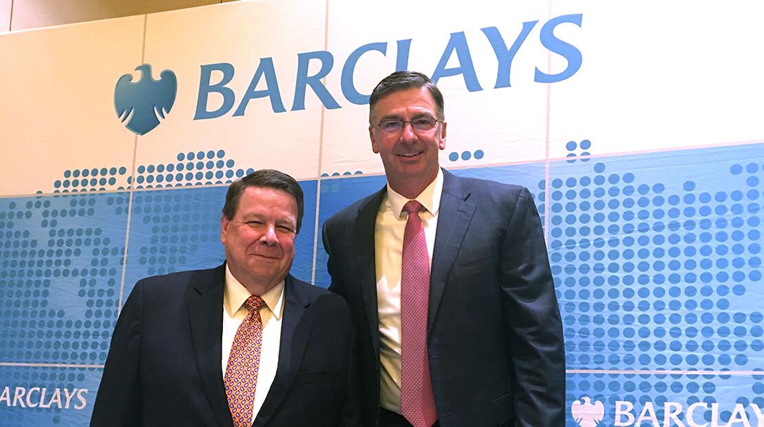 2018 Barclays