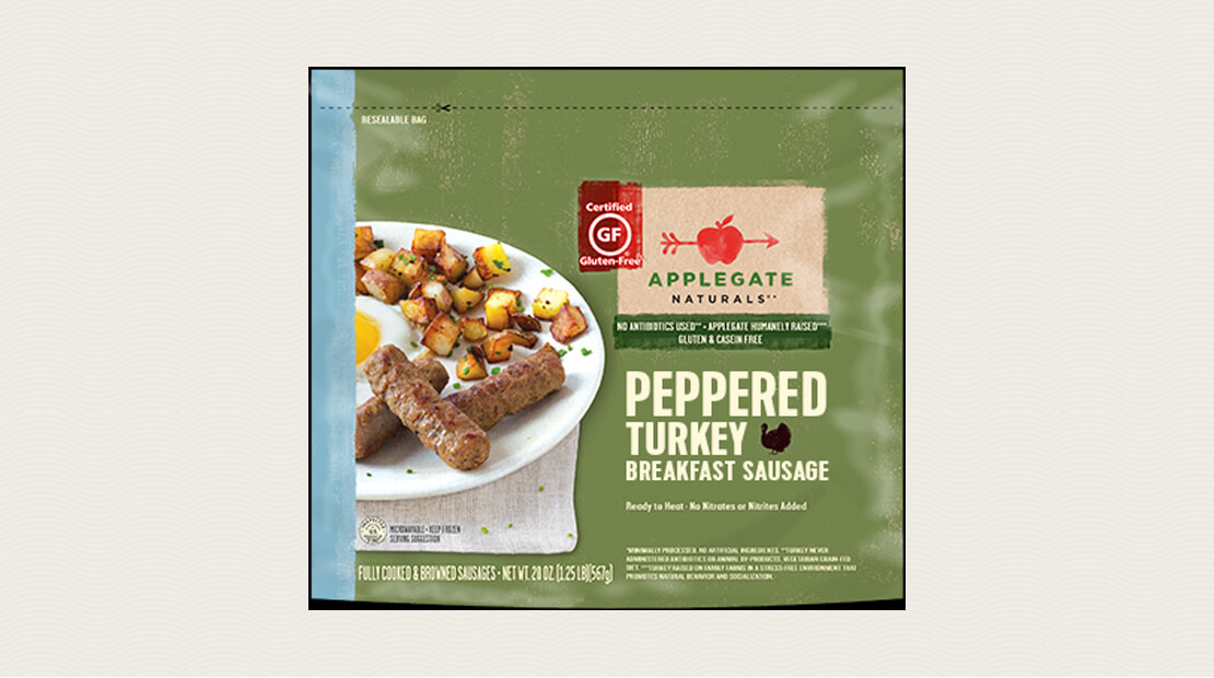 Peppered Turkey Sausage