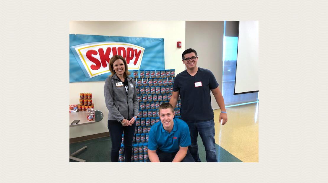 Skippy donation