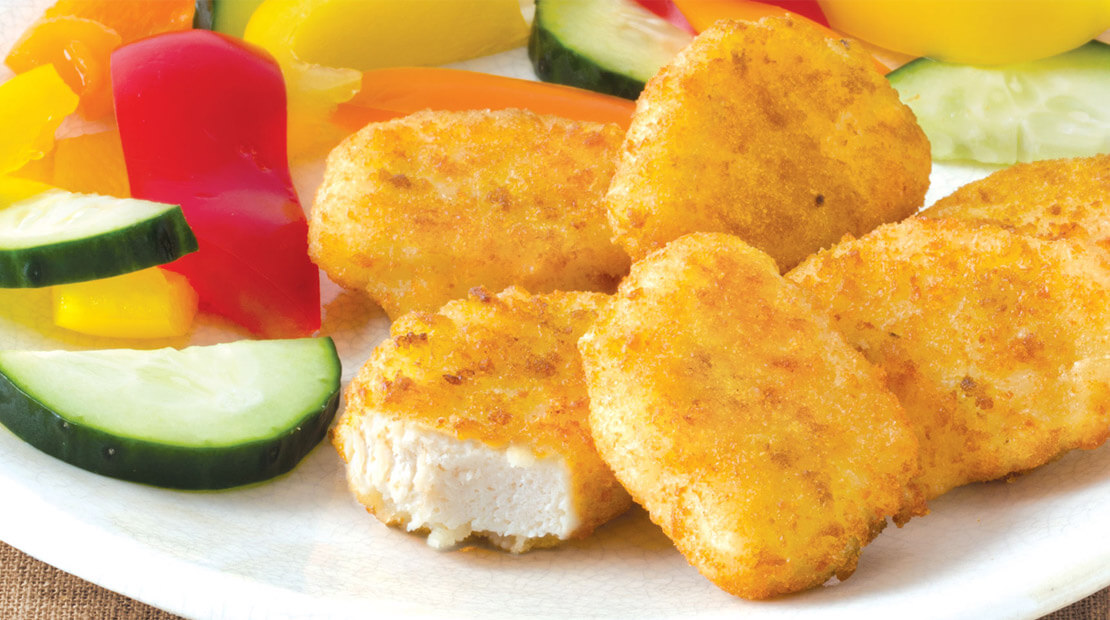 Lowest-Calorie Chicken Nuggets