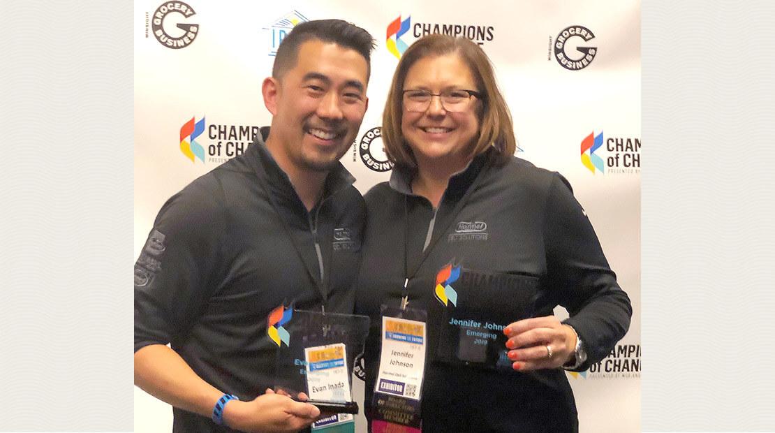 Evan Inada Jennifer Johnson Champions of Change