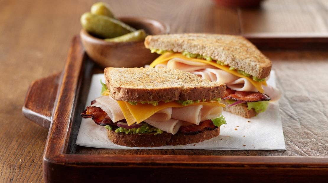 Natural Choice Club Sandwich