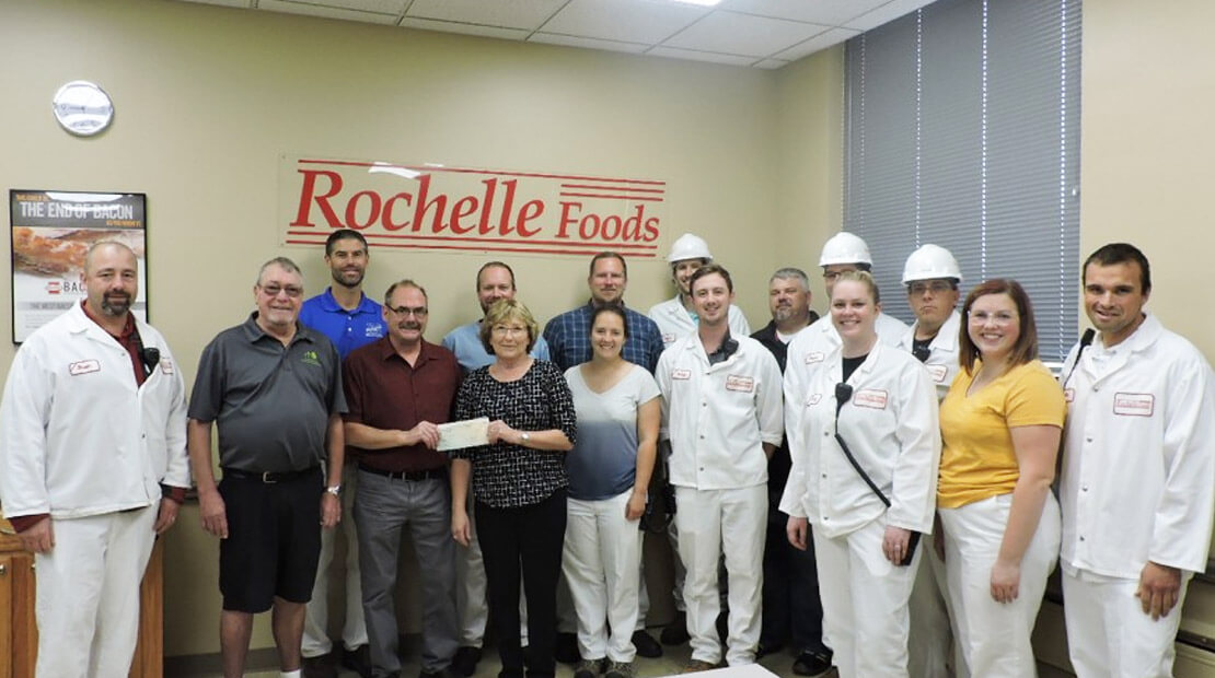 Rochelle Foods Donation