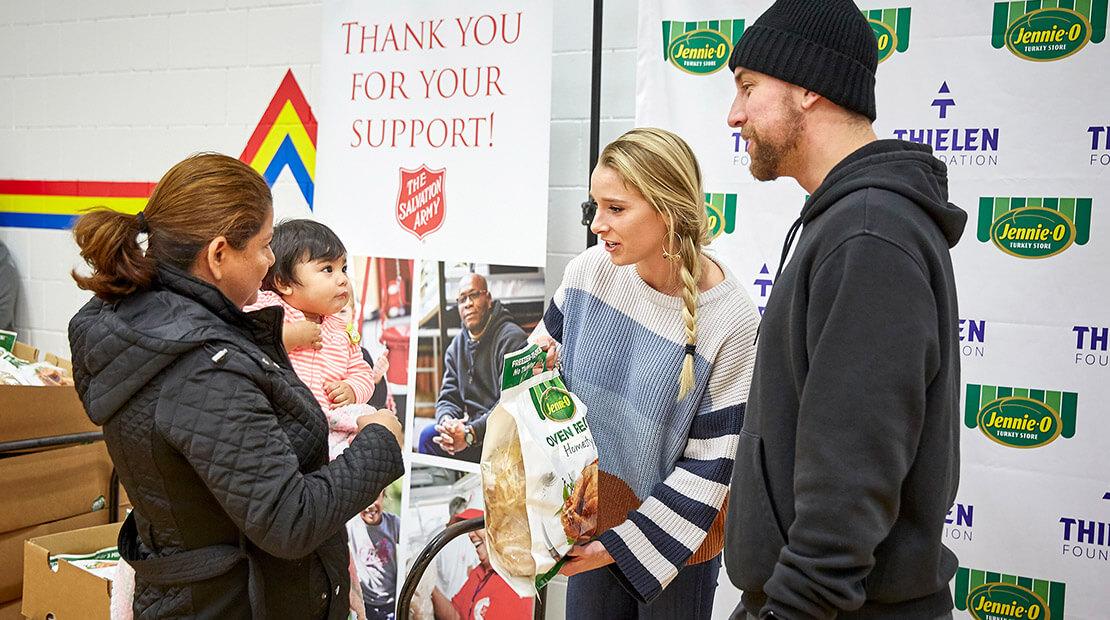 Thielen Turkey Donation