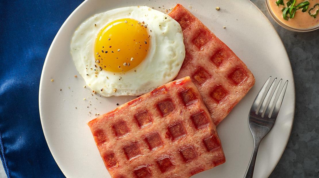 SPAM Waffles