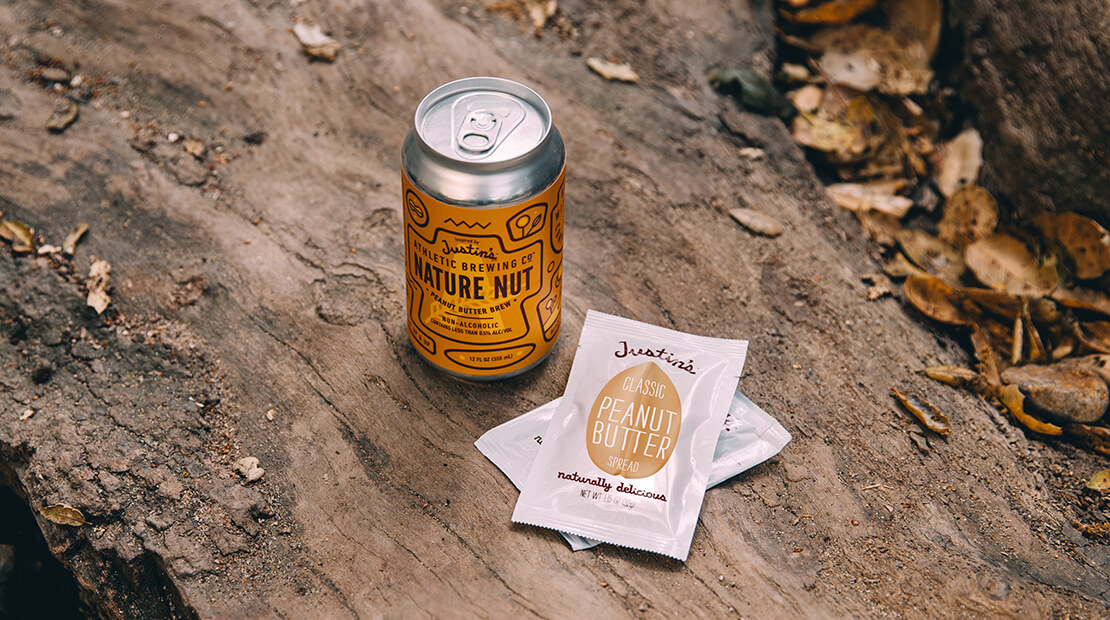 Nature Nut Beer and Justin's almond butter packets