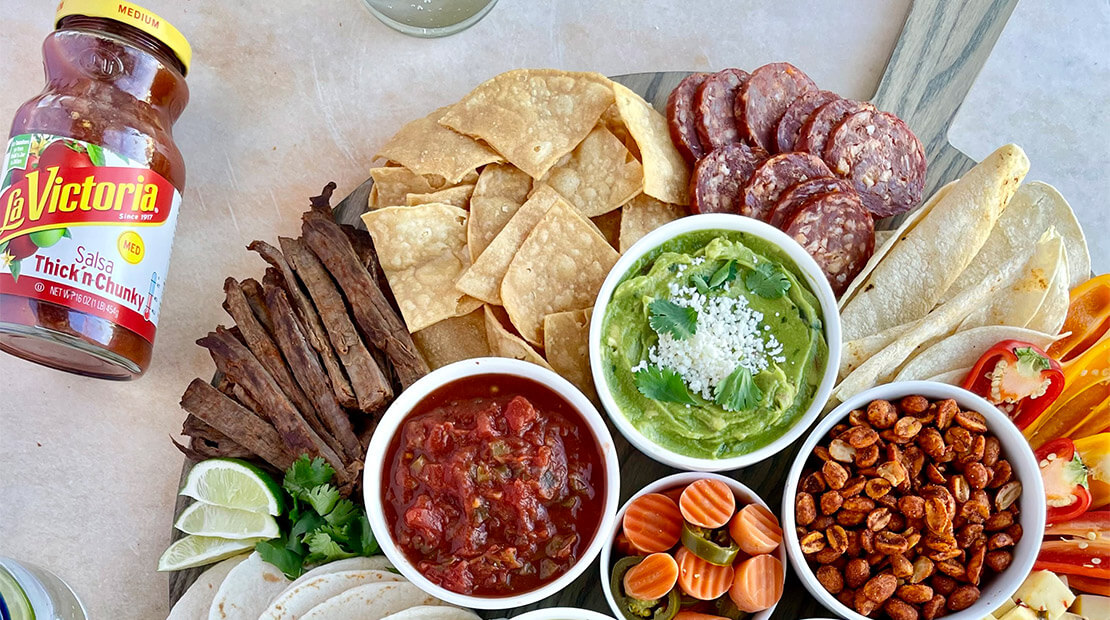 Salsa-Inspired Charcuterie Boards