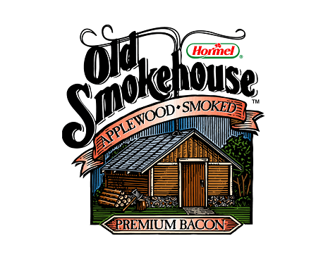 Old Smokehouse® bacon Logo
