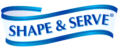 SHAPE & SERVE® products Logo
