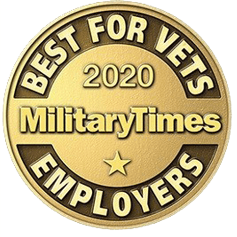 Military Times Best for Vets 2020 logo