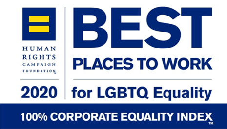 Human Rights Campaign Foundation 2020 LGBTQ Equality logo