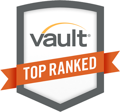 Vault Top Ranked Internships logo