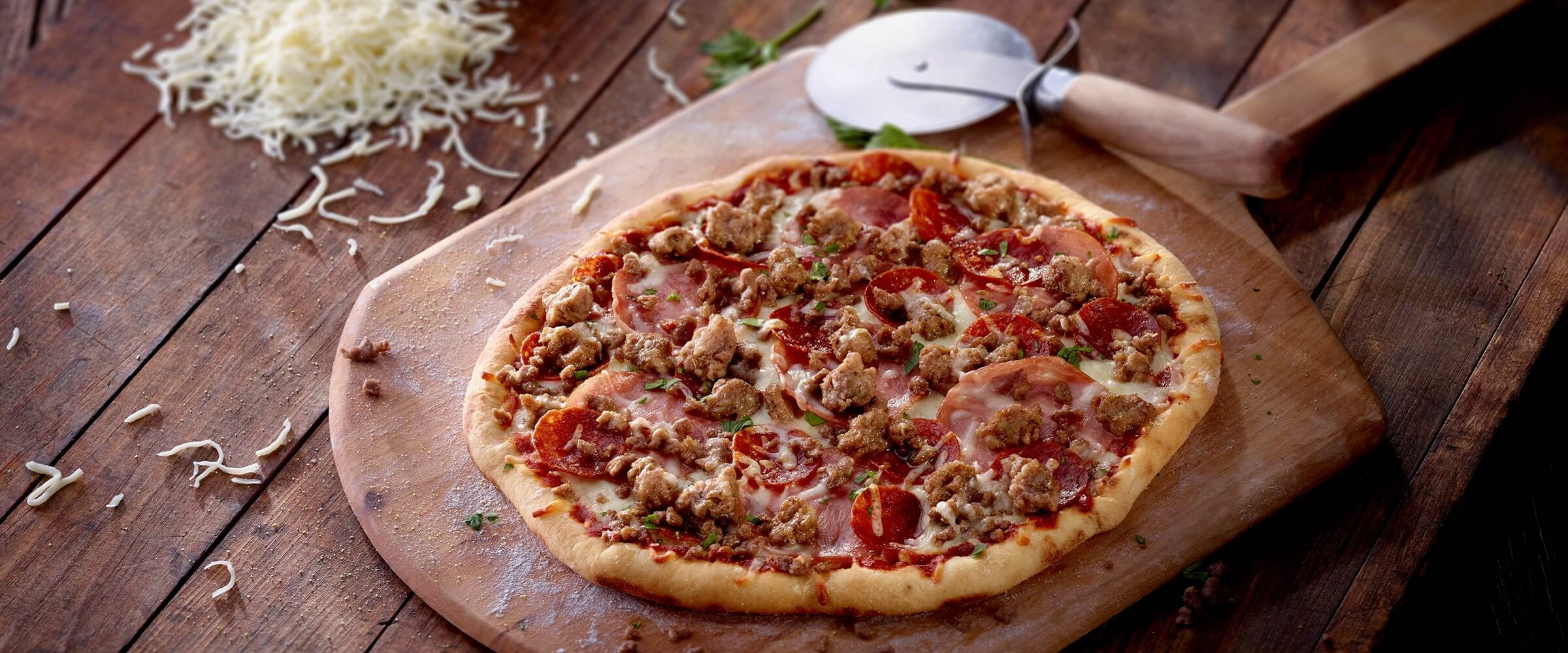 Burke Marketing Corp pizza toppings