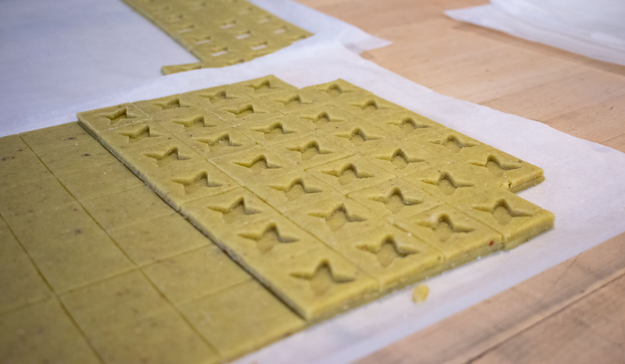 Cookies being made at La Boite in New York City