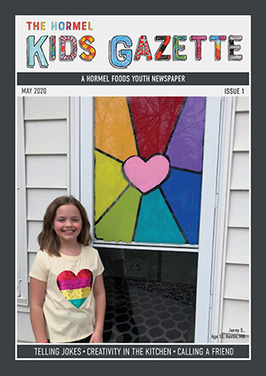Hormel Kids Gazette Issue 01 cover