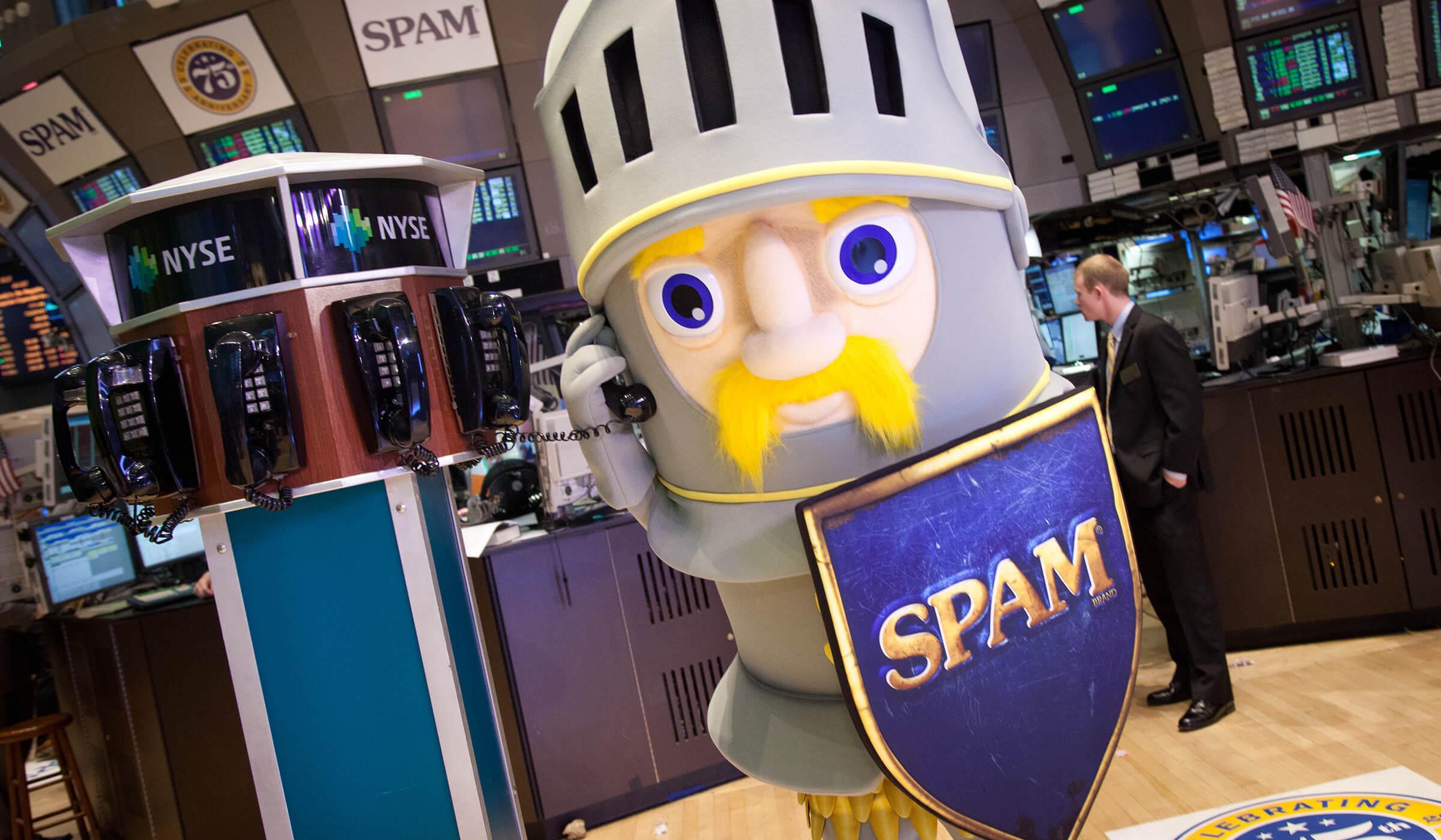 Spamalot NYSE