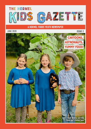 Hormel Kids Gazette Issue 02 cover