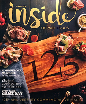 Inside Hormel Foods Magazine Cover - Summer 2016