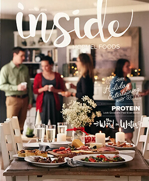 Inside Hormel Foods Magazine Cover - Winter 2016