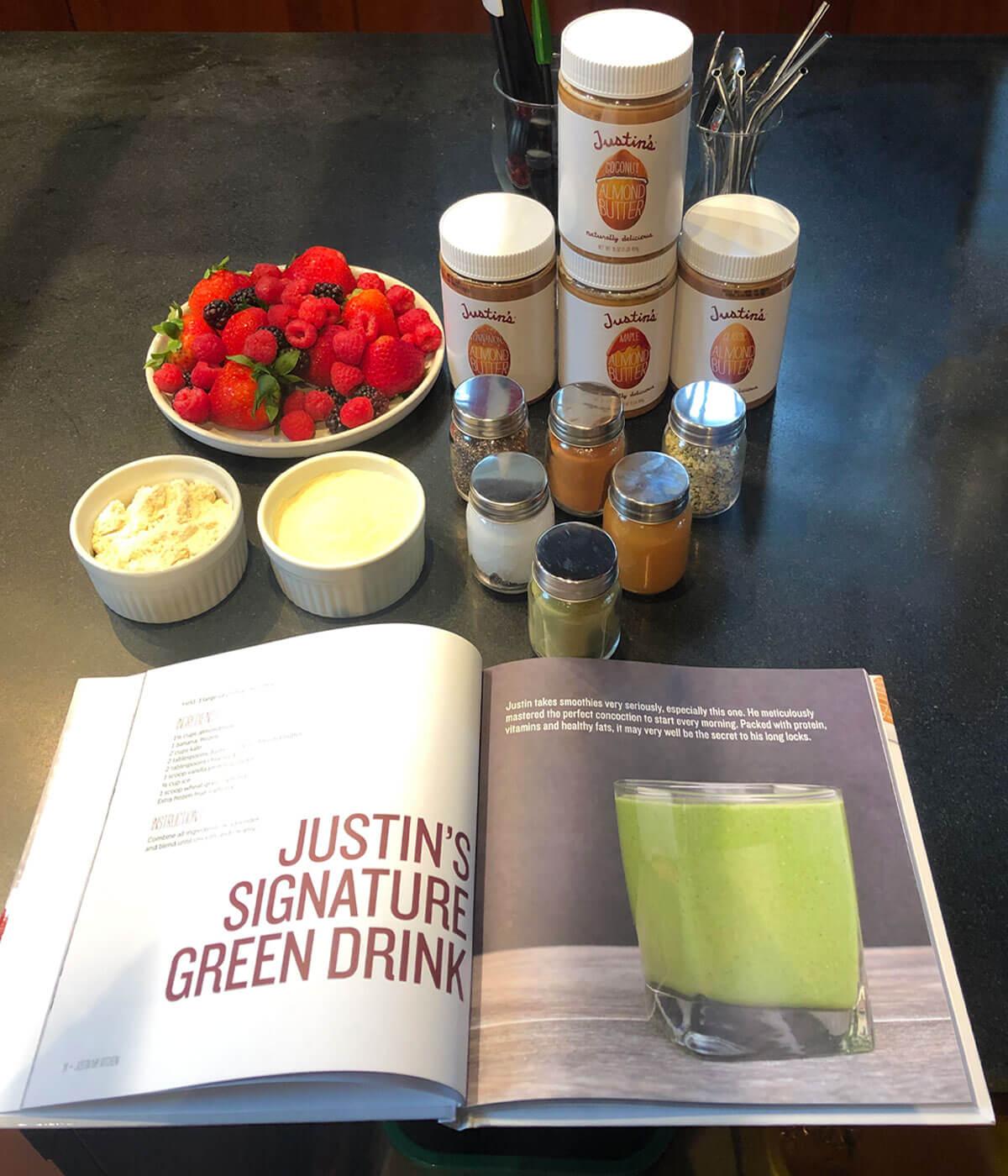 Justin's Signature Green Drink Recipe