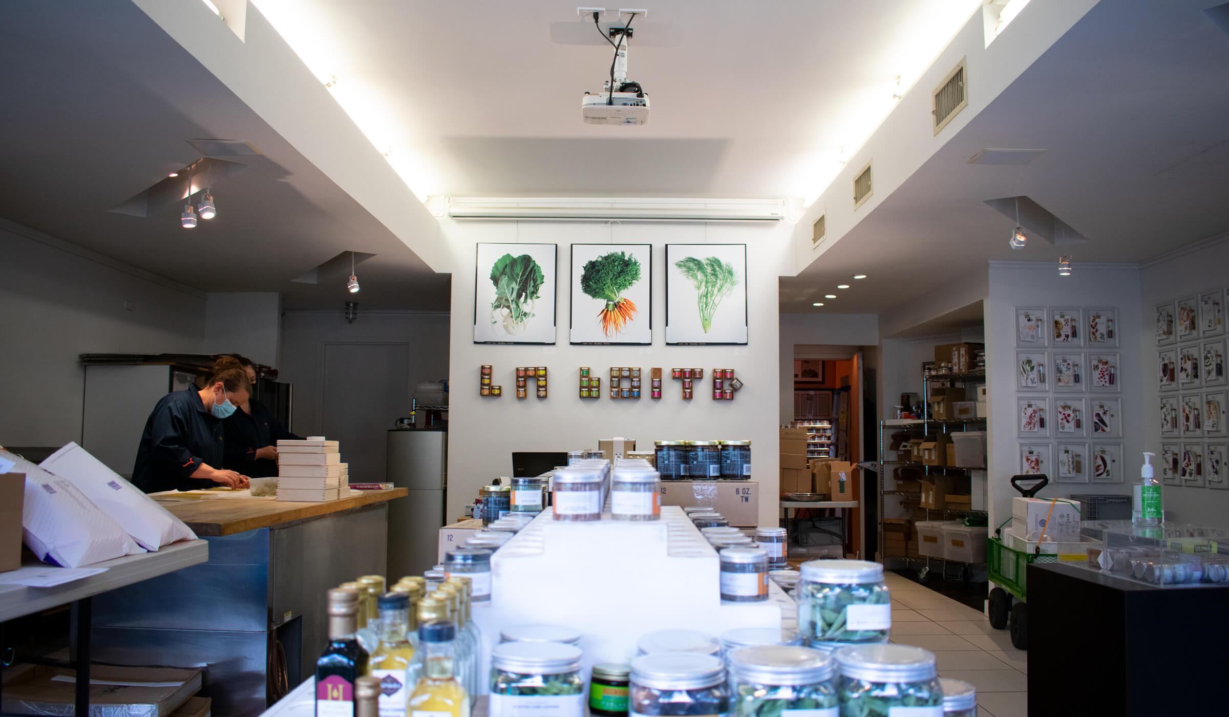 La Boite Shop in New York City