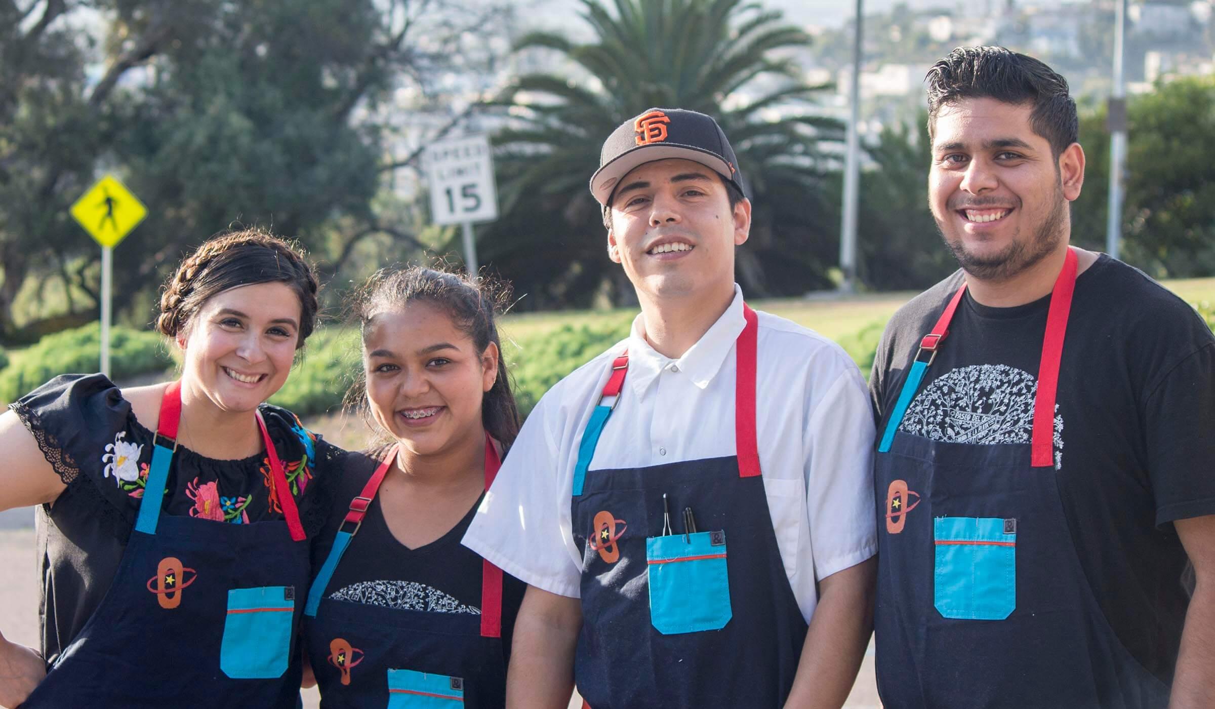 Chefs from La Victoria 100 year anniversary event